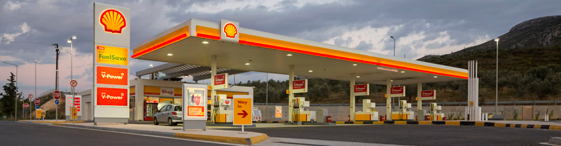 Shell retail stations